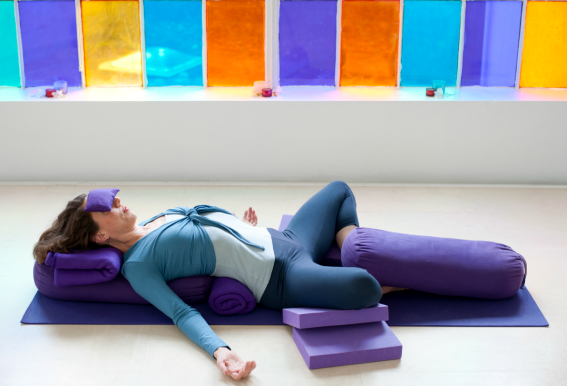 Restorative Yoga More Challenging Than First Meets The