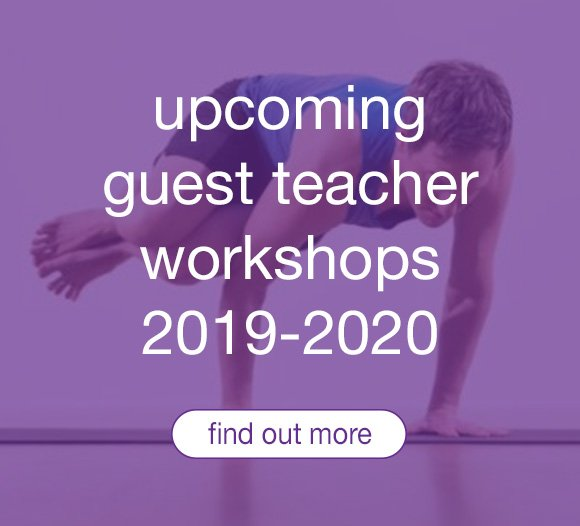 Guest teacher yoga workshops at Triyoga