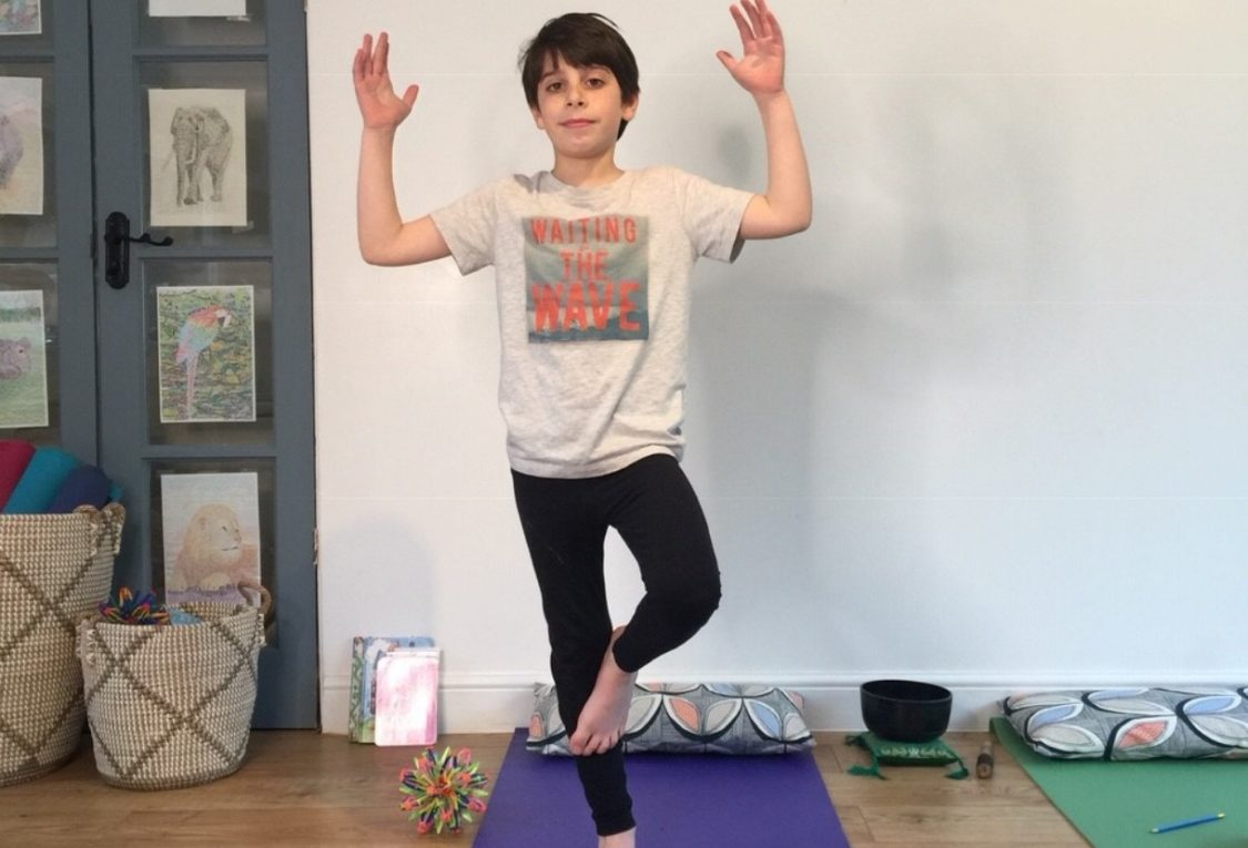 Setting Up A Home Yoga Practice With Your Kids Triyoga