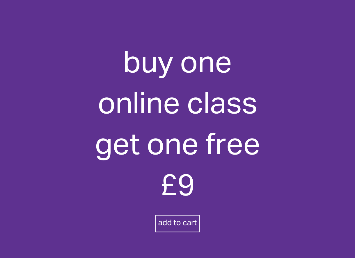 Buy one get one free - online yoga classes