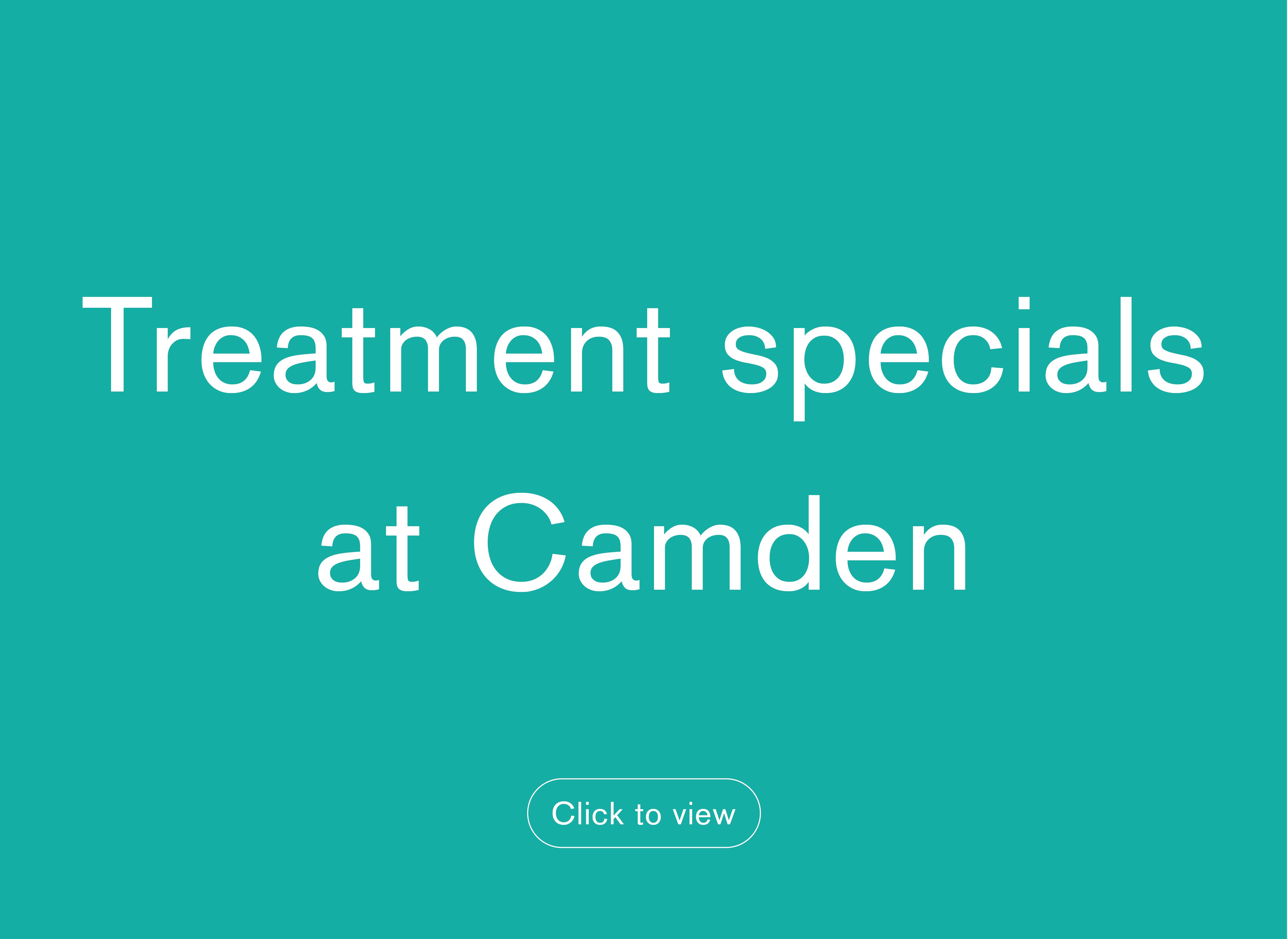 Treatment specials Camden